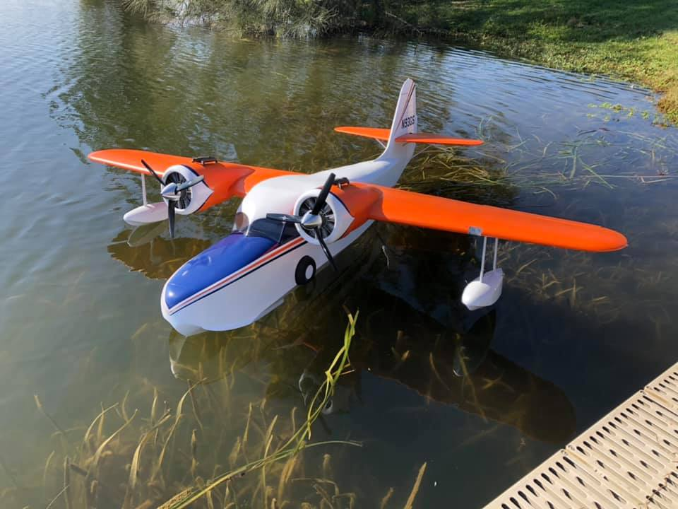 Grumman Goose - Welcome at RC-Europe, manufaturer of Wooden Lasercut RC  planes