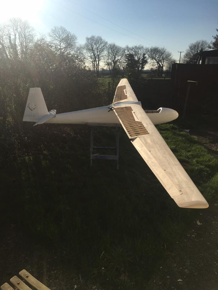 Ka6 scale glider 1:3,5 - Welcome at RC-Europe, manufaturer of Wooden  Lasercut RC planes