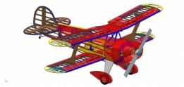 Pitts S1 1550mm houtkit